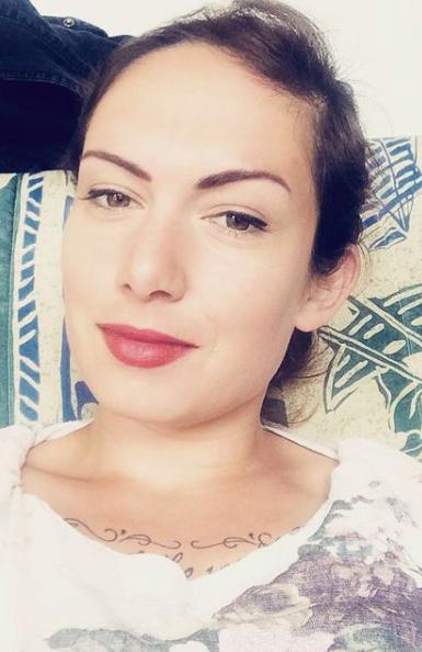 selfie de la creatrice de la page